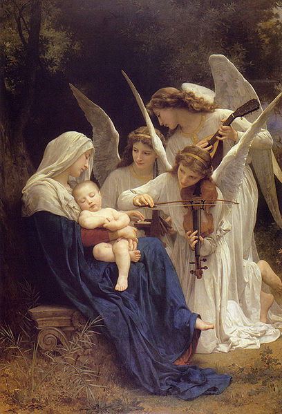 408px-William-Adolphe_Bouguereau_(1825-1905)_-_Song_of_the_Angels_(1881).jpg