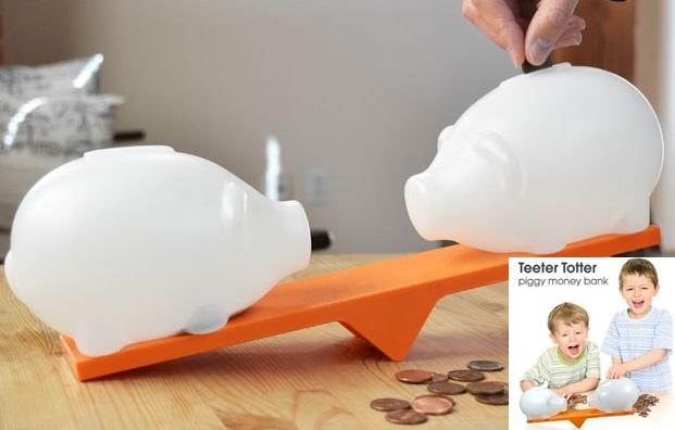 See Saw Piggy Bank Balance