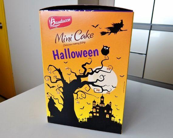 コストコ Halloween ハロウィン お菓子 おすすめ 新商品 バウドッコ ハロウィーンケーキ 848円 バウドゥッコ Bauducco