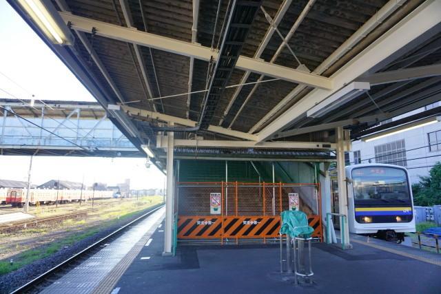 小湊鉄道 & JR 旧跨線橋の封鎖4