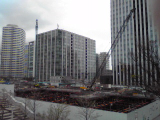 みなとみらい建築現場2012春
