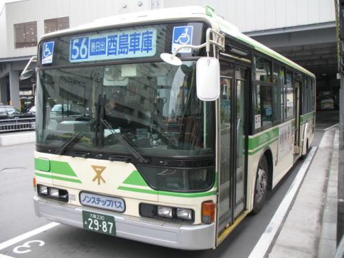 大阪市営バス67-2987の思い出 ] ...