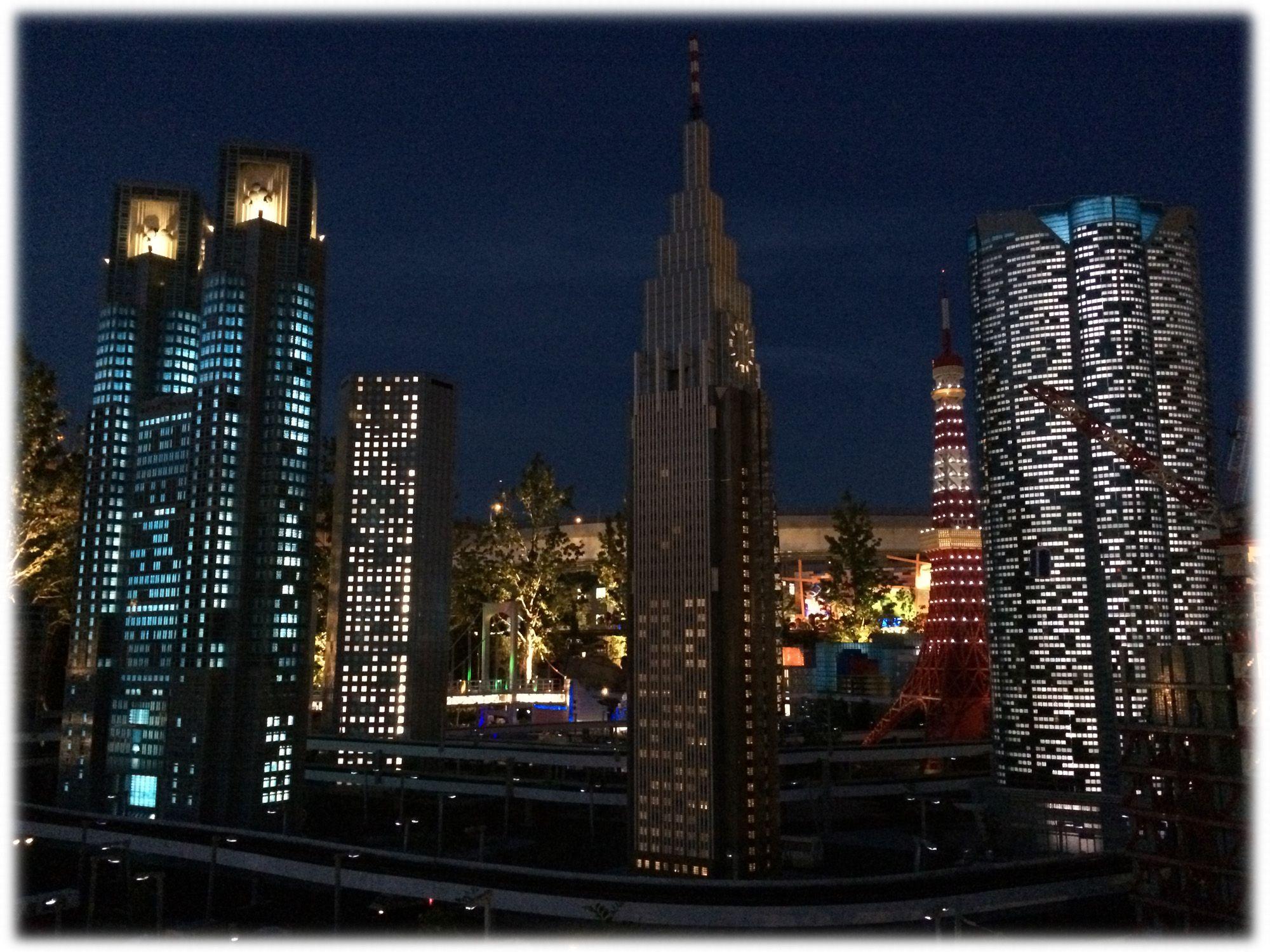 ミニランド 東京 夜景