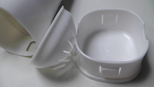 箸立ての底と目皿 パール金属 フード付箸立てHB-503