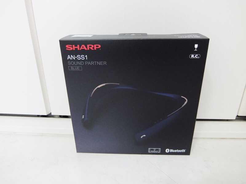 コストコ レポ ブログ Sharp ネックスピーカー 円 AN-SS1