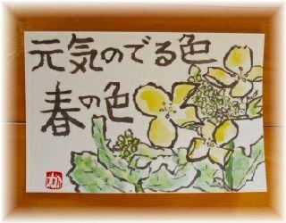 菜の花 2月