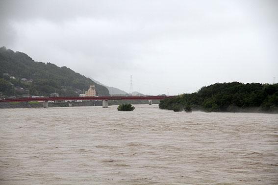 吉野川の増水-02♪