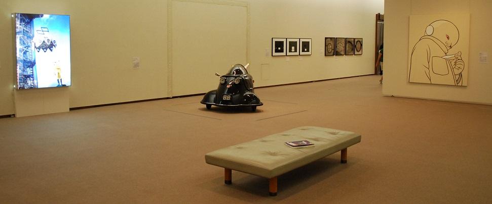 H26美術の冒険 展示室風景1