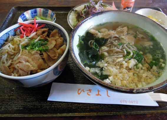 久善の「日本そば&豚丼」♪