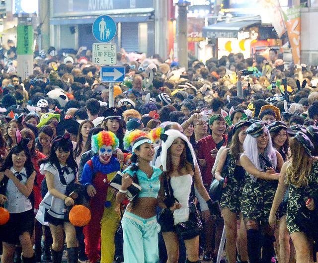 2015 ハロウィン渋谷2