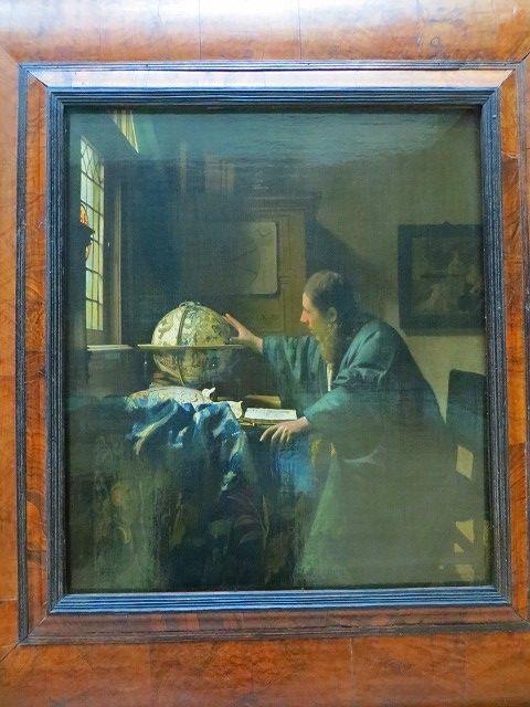 フェルメール 天文学者 ルーヴル美術館 オランダ絵画 837展示室 2018 ...