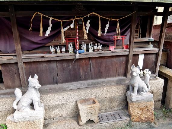 鞆の浦 寺 神 社 小烏神社 金古稲荷神社