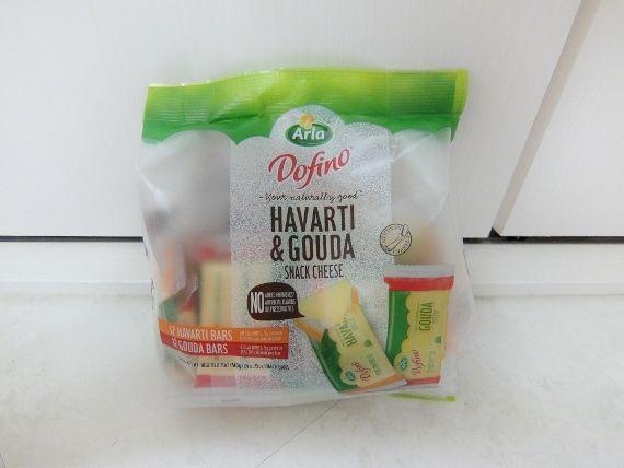 コストコに コストコでお買い物 購入品 戦利品 買ったもの Dofino H&G Portion 1,448円也 個別包装の ドフィーノ ハバティ&ゴーダ スナックチーズ