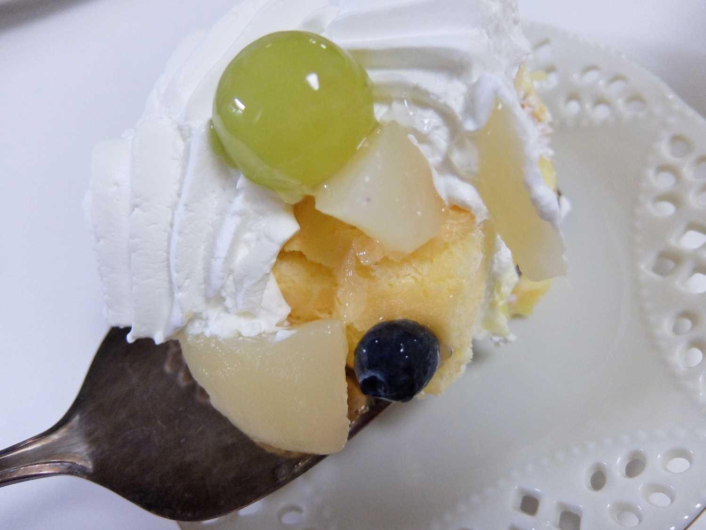 新商品 コストコ レポ ブログ 洋ナシ スコップケーキ 円 期間限定 味