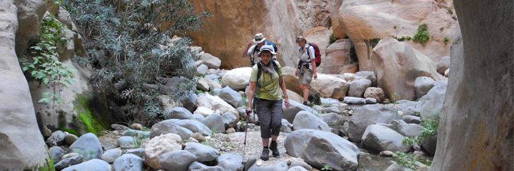 Wadi Ghuweir Trail