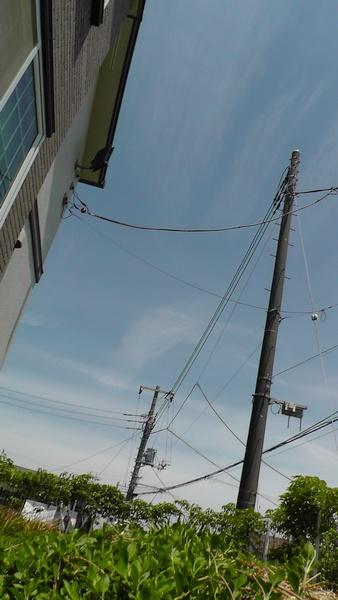 電柱 電線