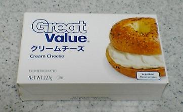 グレートバリュ クリームチーズ
