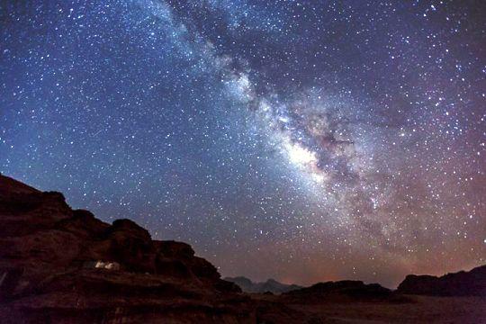 ワディラムの夜空