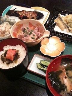 割烹・天ぷら 土筆 つくし会席ランチ