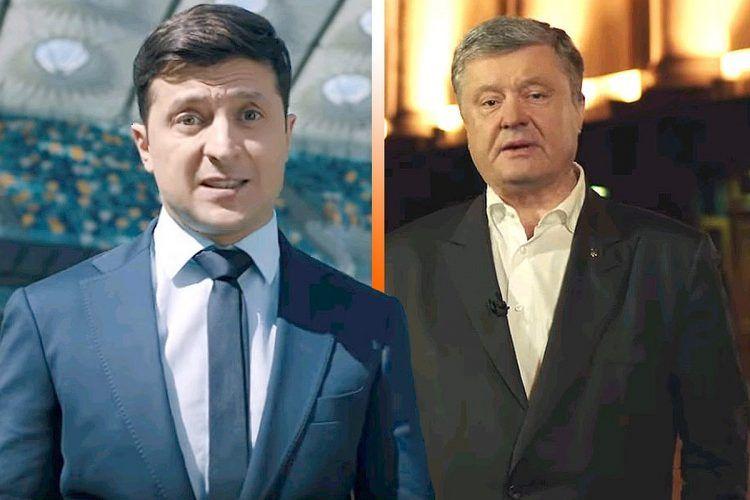 ウクライナ大統領選挙前の公開討...