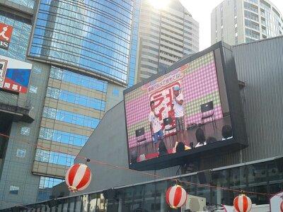 赤坂サカスモニター2013年8月