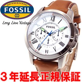 27a02ebc1b 逸品◇フォッシル FOSSIL Grant Chronograph メンズ腕時計 グラント クロノグラフ ウォッチ FS5060