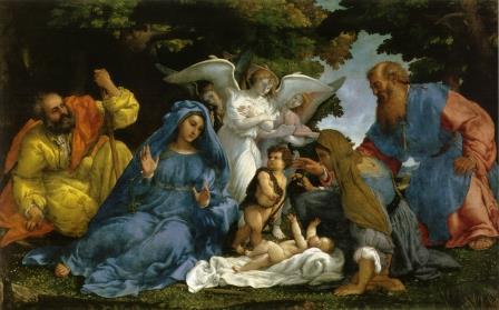 Lotto,_sacra_famiglia,_angeli_e_santi_louvre.jpg