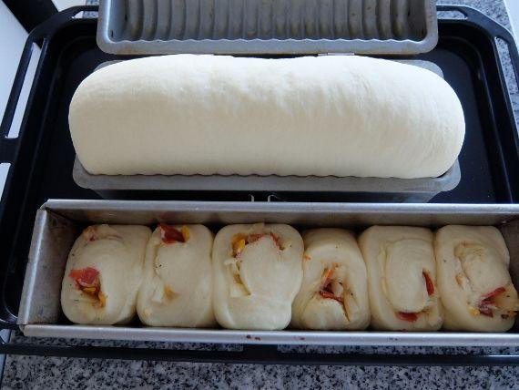 丸パン ラウンド チーズ スリムロング オリジナルレシピ