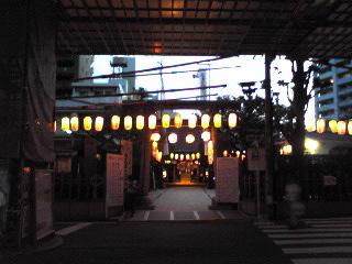 平沼橋水天宮2012年9月
