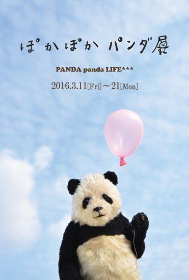 ぽかぽかパンダ展DM PANDA panda LIFE***