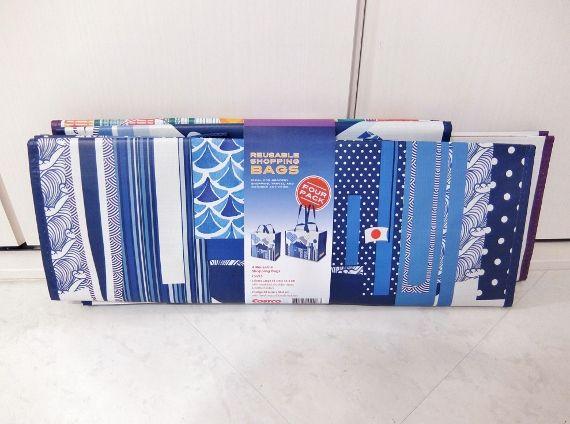 コストコ レポ ブログ コストコ ショッピング バッグ JP 4PK 638円 日本限定