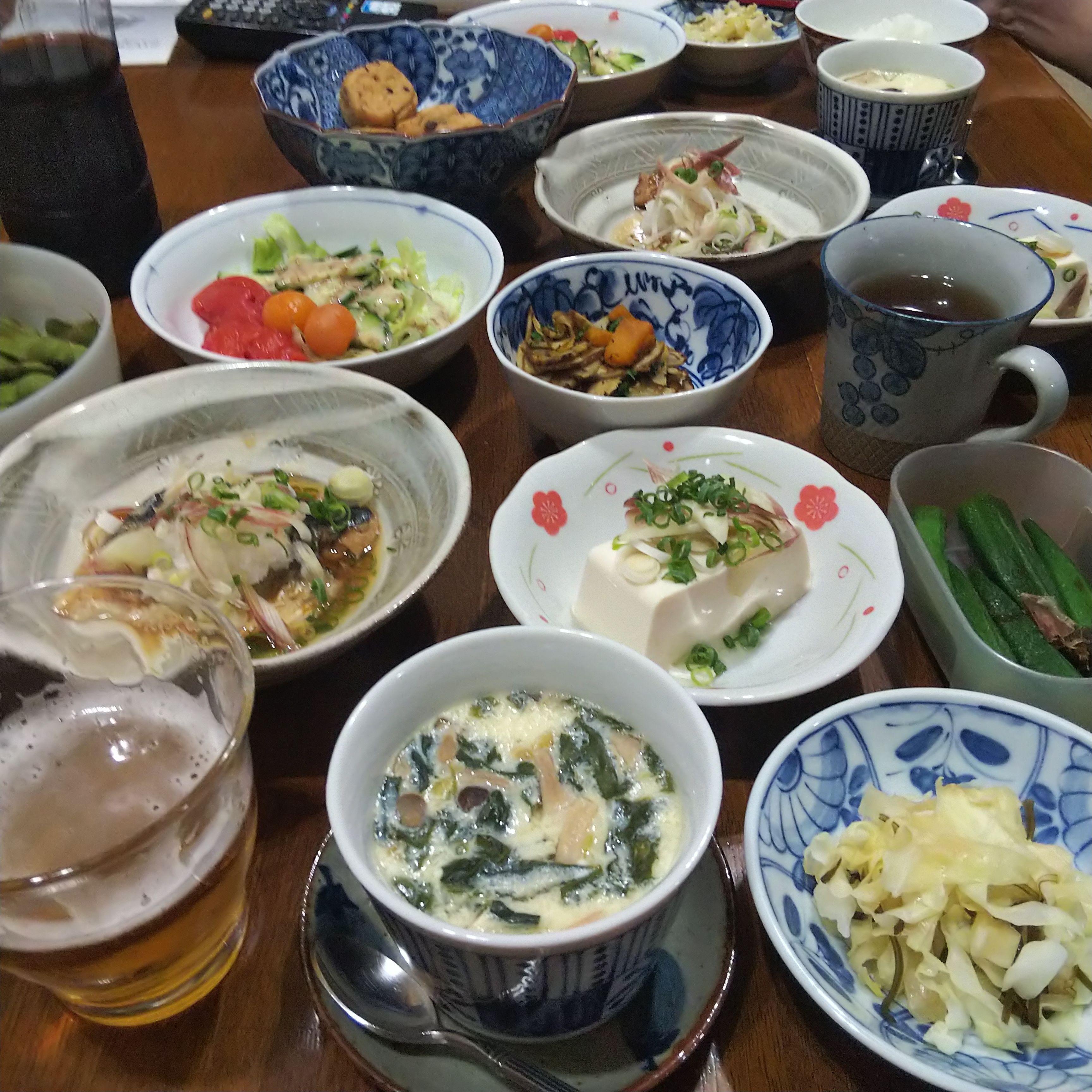 実家_夕食