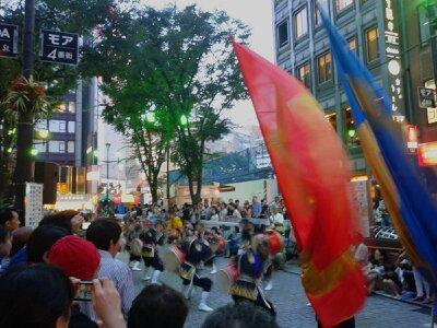 新宿エイサー祭り2013年7月・2