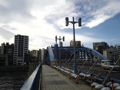 浅草駒形橋2013年7月