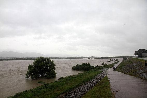 吉野川の増水-05♪