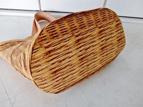 リバティ トリック かごバッグ 籠 手作り