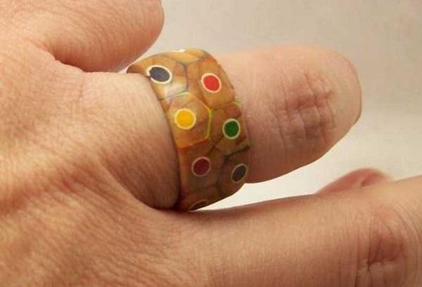 おもしろ指輪