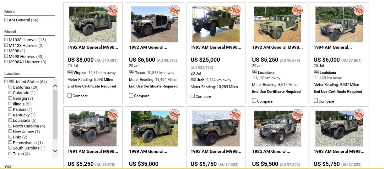 軍用車の販売]の記事一覧 | やず...