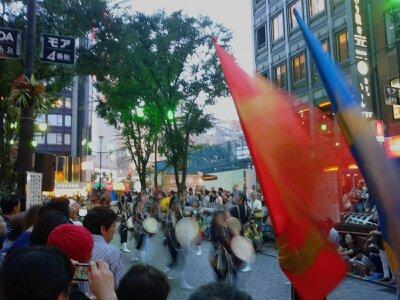 新宿エイサー祭り2013年7月・1