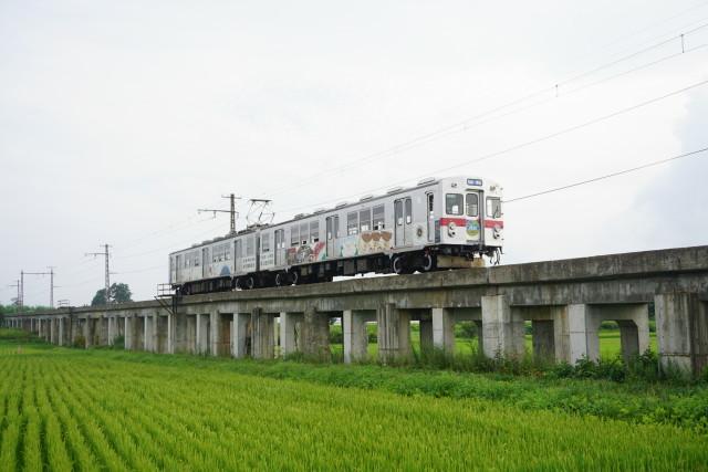 弘南鉄道 弘南線コンクリート橋5