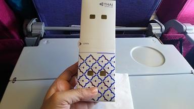 タイ航空 国内線機内食