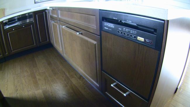 一条工務店の食器洗い乾燥機