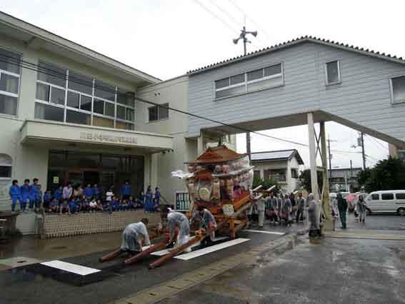 川田小学校♪
