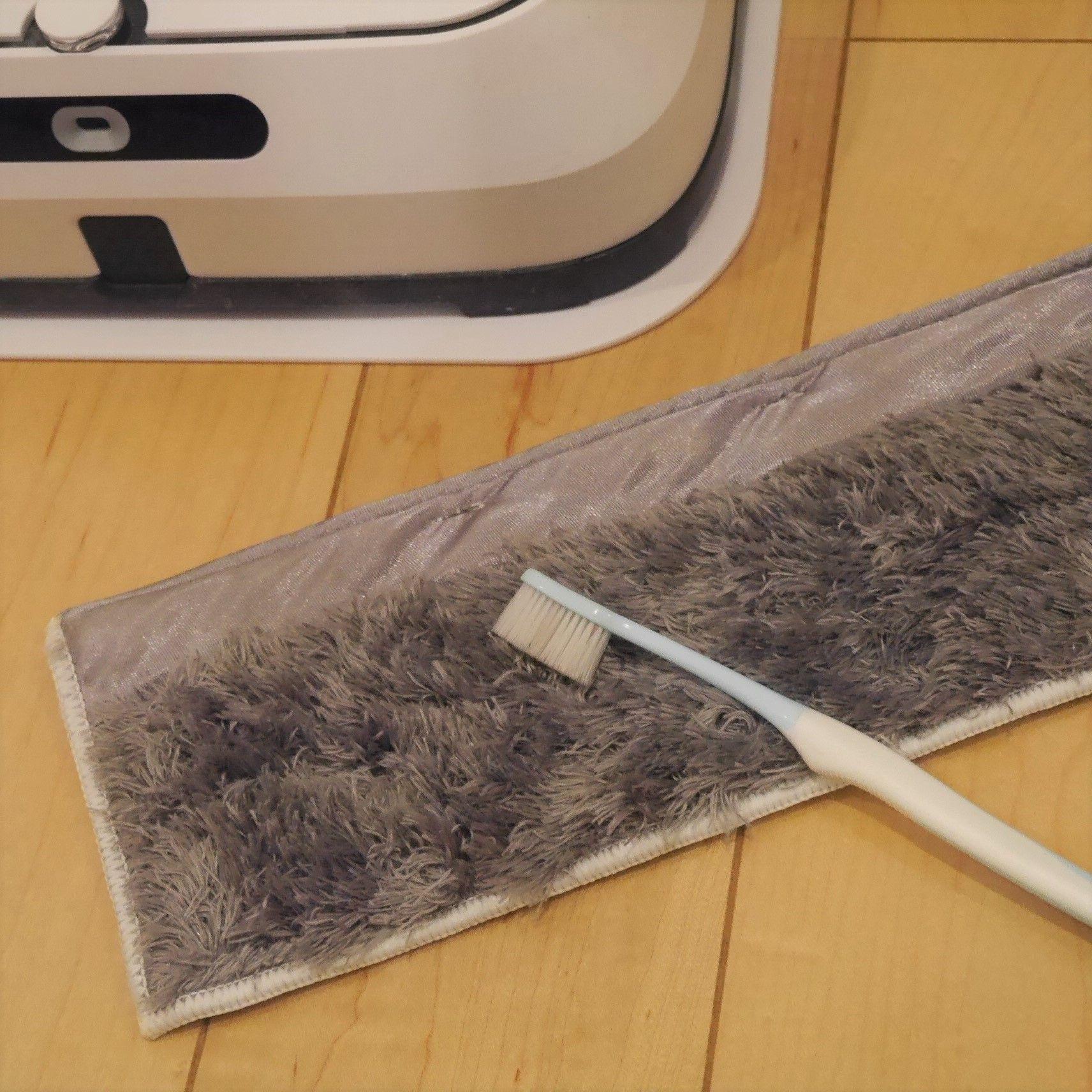 ブラーバジェット m6_洗濯可能ドライパッド&歯ブラシ
