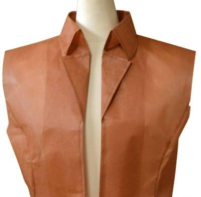 ナポレオンカラーのジャケットの型紙