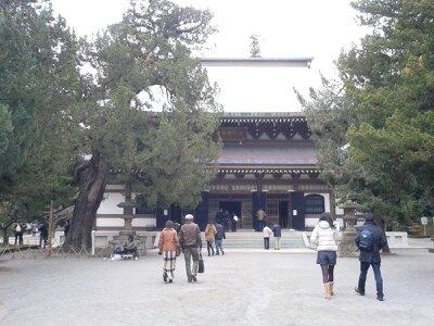 北鎌倉円覚寺仏殿2012年12月