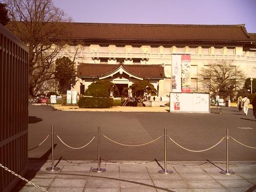 YASHICA EZ F521で撮った 東京国立博物館