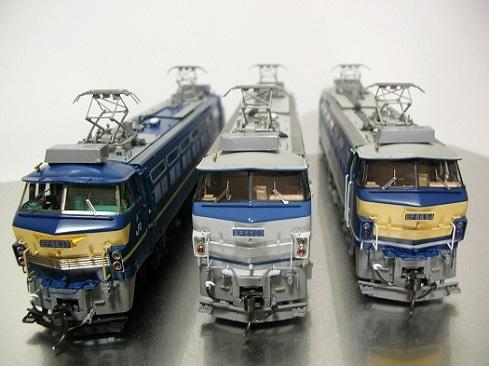 ムサシノモデル EF66-37、30、54