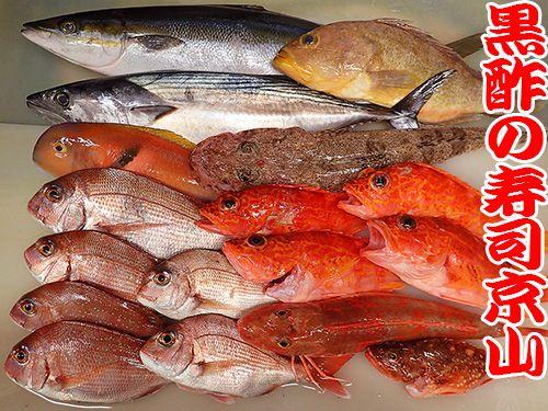 寿司の種類 宅配寿司 天然地魚