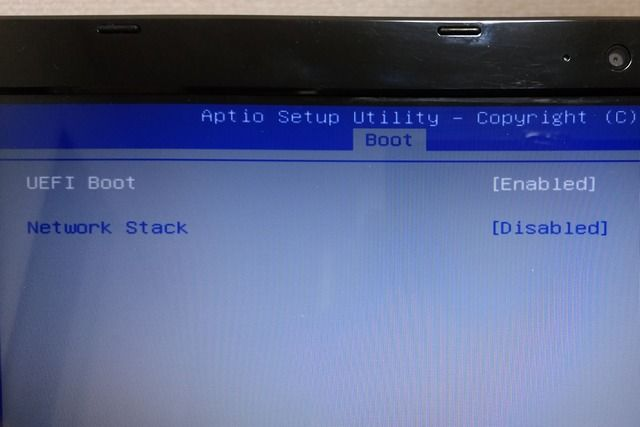 UEFI boot = enabled